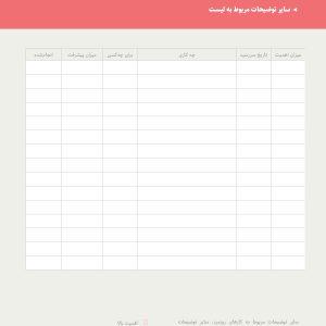 جدول برنامهریزی روزانه شخصی
